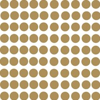 RoomMates Gold Confetti Dots Wall Stickers Gold