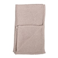 Bloomingville Rose Cotton Throw Multi