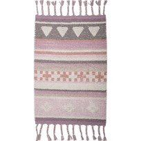 Bloomingville Cotton Rug Rose Multi