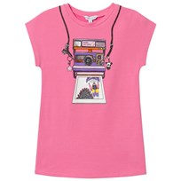 Little Marc Jacobs Fuchsia Miss Marc Polaroid Selfie Dress 468