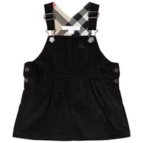 Burberry Black Wilma Dungaree Dress Black