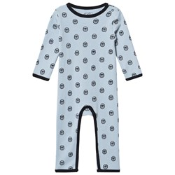 Petit by Sofie Schnoor Angry Bulldog One-Piece Blue