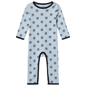 Image of Petit by Sofie Schnoor Angry Bulldog One-Piece Blue 62 cm (2958239337)
