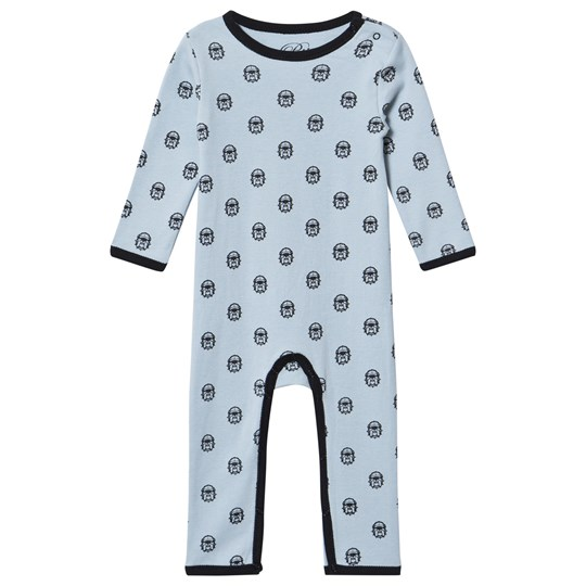 Petit by Sofie Schnoor Angry Bulldog One-Piece Blue Angry bulldog