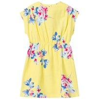 Tom Joule Yellow Floral Jersey Dress YELLOW MARGATE FLORAL