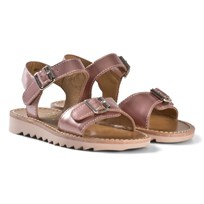 Pom Dapi Ripple Buckle Sandal Rose Multi