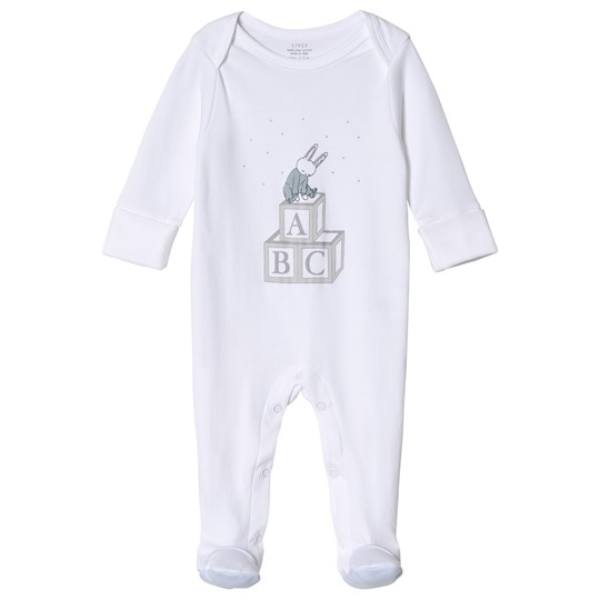 Livly Blue Bunny Placement Coverall Blue
