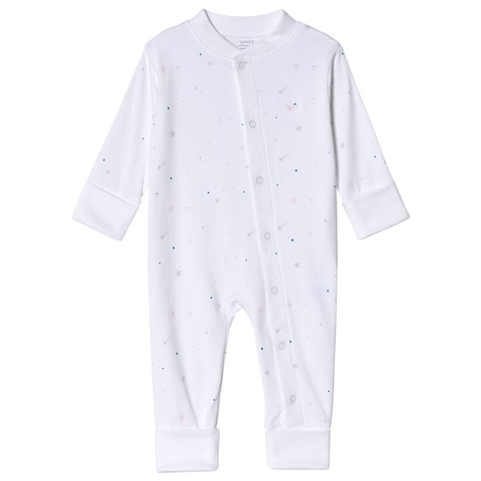 Livly Star Dreaming Baby bodysuit Rosa Pink Star Dreaming