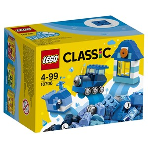 Image of LEGO Classic 10706 LEGO® Classic Blue Creativity Box 4+ years (3056116605)