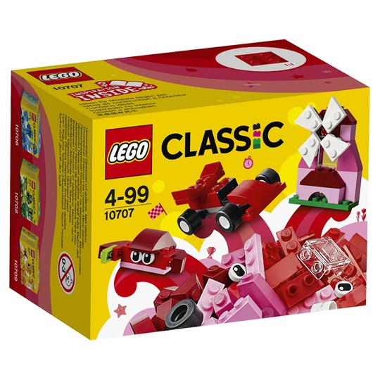 LEGO Classic 10707 LEGO® Classic Red Creativity Box Red