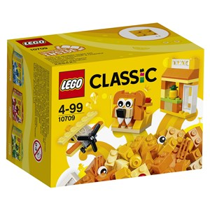 Image of LEGO Classic 10709 LEGO® Classic Orange Creativity Box 4+ years (2958238315)