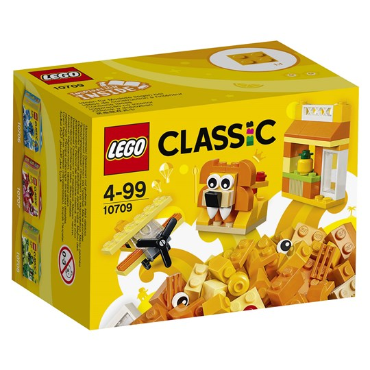 LEGO Classic 10709 LEGO® Classic Orange Creativity Box Orange