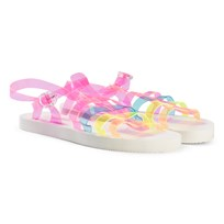 Billieblush Multi Colour Jelly Sandals Z41