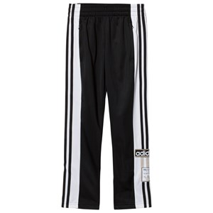 Image of adidas Originals Black Boys Branded Popper Side Track Bottoms 4-5 years (3066369243)