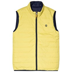 Timberland Lime/Navy Reversible Gilet