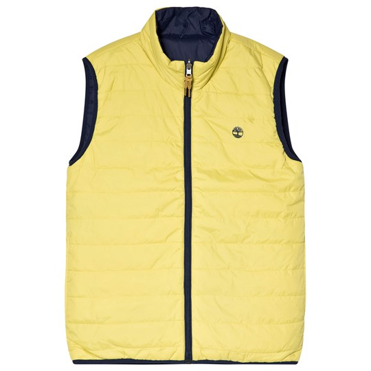 Timberland Lime/Navy Reversible Gilet 613