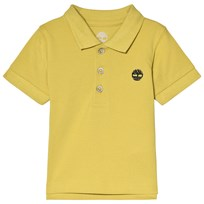 Timberland Lime Green Classic Tree Logo Polo Yellow