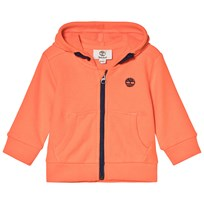 Timberland Orange Logo Zip Hoody 420