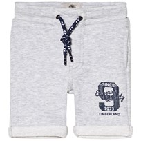 Timberland Grey Marl Branded Sweat Shorts A32