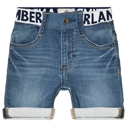 Timberland Light Wash Denim Shorts Z74