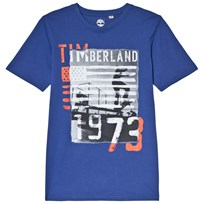 Timberland Royal Blue Flag Branded Tee 861