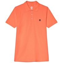 Timberland Orange Logo Pique Polo 420