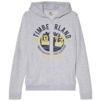 Timberland Grey Large Tree Logo Hoody A32