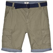 Timberland Khaki Cargo Shorts with Belt 688