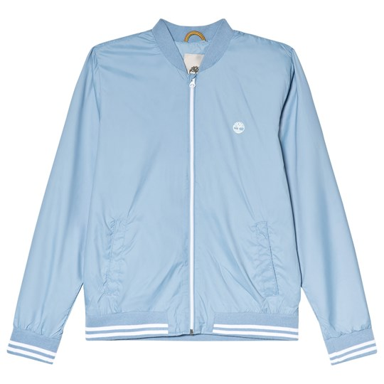 Timberland Blue Bomber Jacket with Logo 927