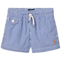 Ralph Lauren Blue Seersucker Swim Shorts with PP 001