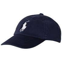 Ralph Lauren Big Pony Chino Baseball Cap Navy 001