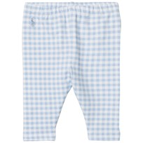 Ralph Lauren Pale Blue Gingham Leggings 002