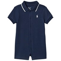 Ralph Lauren Navy Interlock Romper with PP 001
