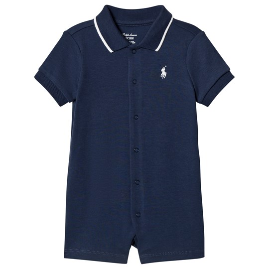 Ralph Lauren Polo Romper Summer Navy 001