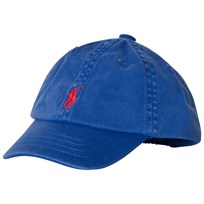 Ralph Lauren Royal Blue Baby Baseball Cap with PP 002