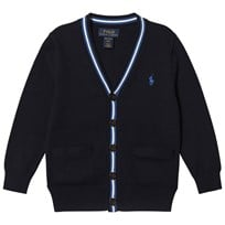 Ralph Lauren Navy Cotton Cardigan 001