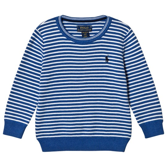 Ralph Lauren Blue Stripe Sweater 002