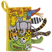 Jellycat Jungly Tails Book Multi