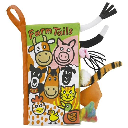 Jellycat Book Farm Tails Multi