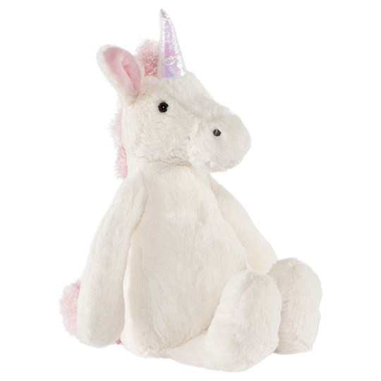 Jellycat Bashful Unicorn Medium, 31cm White