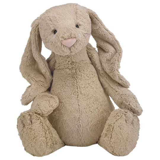 Jellycat Bashful Bunny Gosedjur Beige Really Big 67 cm Beige