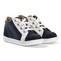 Shoo Pom Bouba Zip Box Regatta Punch Navy/White Navy/White