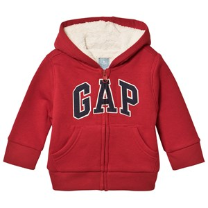 Image of GAP Hooded Jacket Lasalle Red 2 år (2959878495)