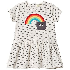 Image of The Bonnie Mob Applique Short Sleeve Dress Rainbow Pocket 18-24 mdr (2959874243)