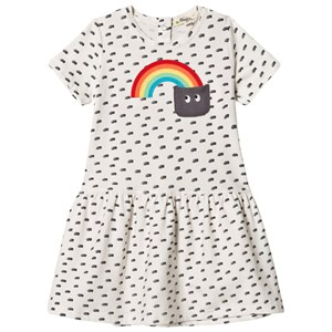 Image of The Bonnie Mob Applique Short Sleeve Dress Rainbow Pocket 2-3 år (2959874245)