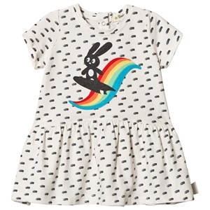 Image of The Bonnie Mob Applique Short Sleeve Dress Rainbow 18-24 mdr (2959874231)