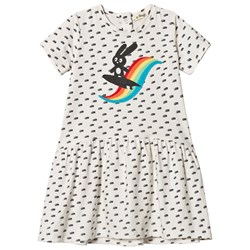 The Bonnie Mob Applique Short Sleeve Dress Rainbow