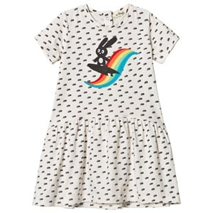 Image of The Bonnie Mob Applique Short Sleeve Dress Rainbow 2-3 år (2959874233)