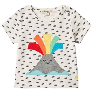 Image of The Bonnie Mob Applique Short Sleeve T-Shirt Volcano 18-24 mdr (2959874273)
