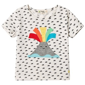 Image of The Bonnie Mob Applique Short Sleeve T Shirt Volcano 2-3 år (2959874263)